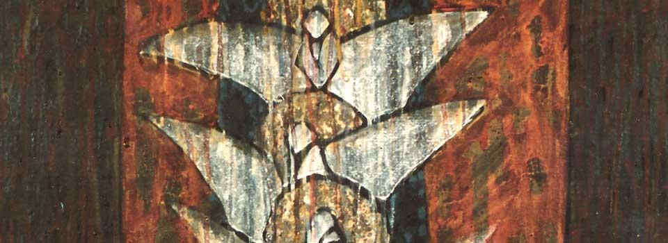 Four Whites detail